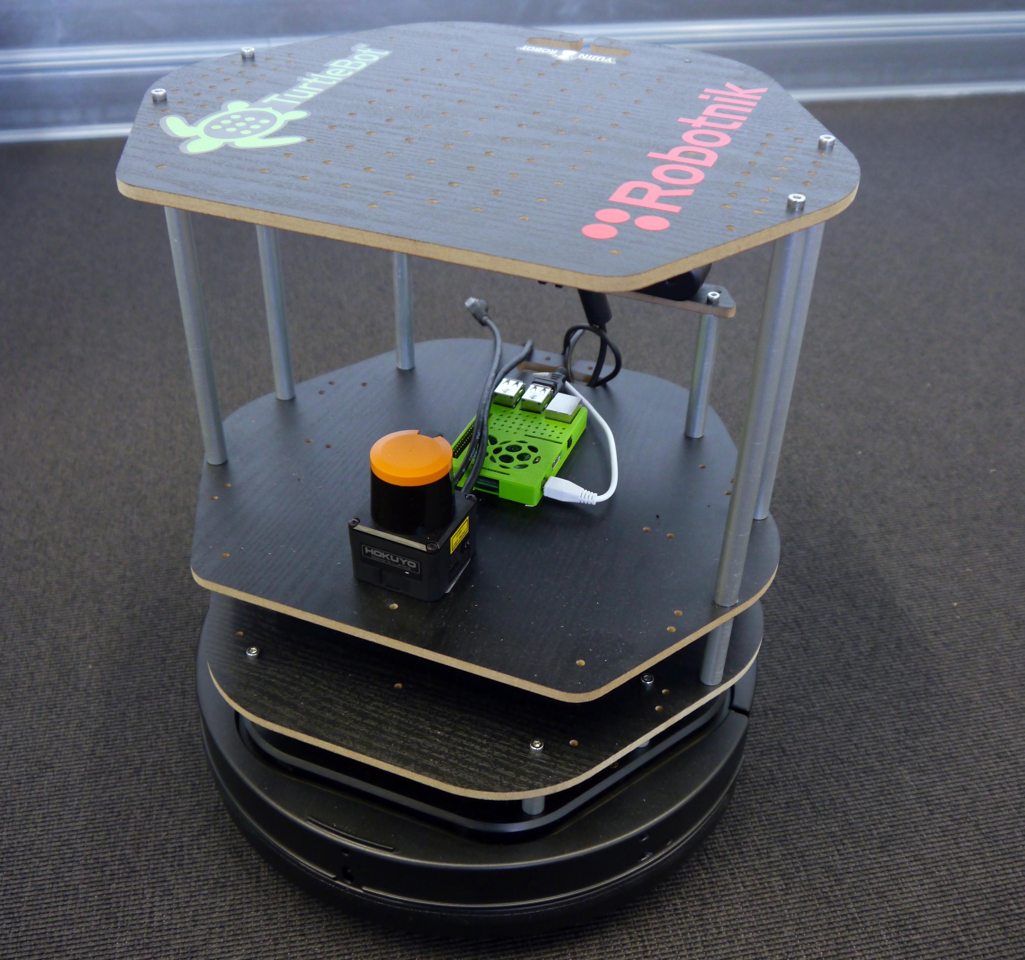 TurlteBot+Laserscanner